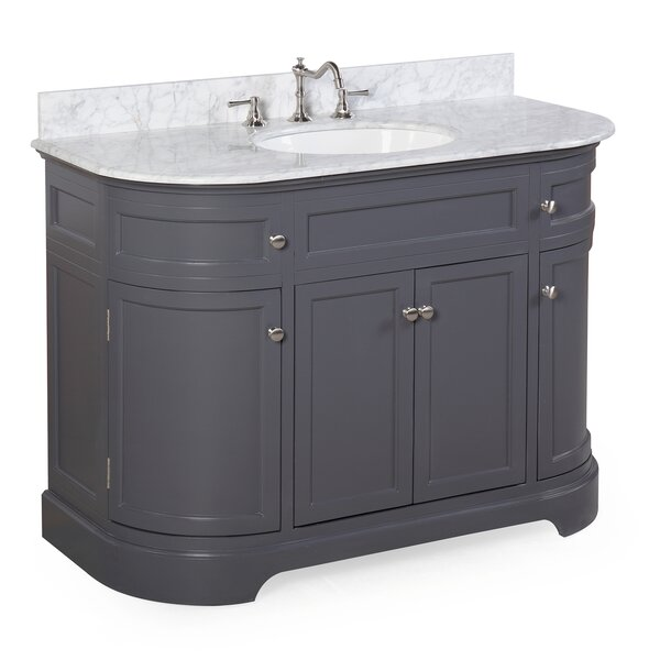 Montage 48 Single Bathroom Vanity Set by Kitchen Bath Collection