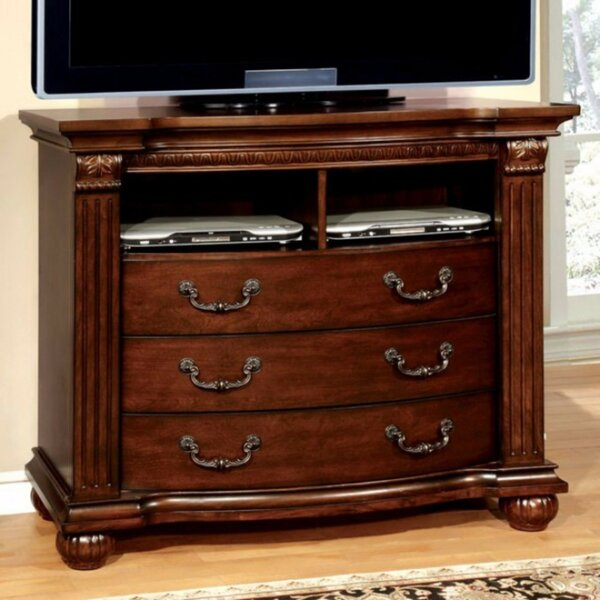 Corona Media 3 Drawer Chest by Charlton Home