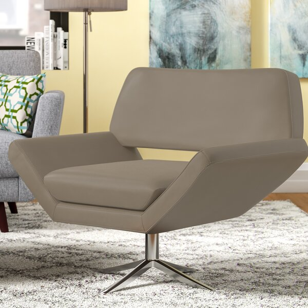Horton Swivel Armchair by Wade Logan