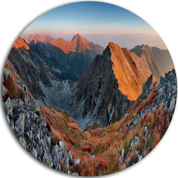 Designart Slovakia Mountains At Autumn Photographic Print On Metal Wayfair
