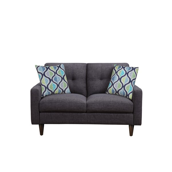 Don't Miss The Lanny Loveseat by Ivy Bronx by Ivy Bronx