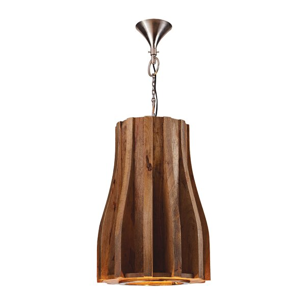 Franklin Wooden Retro 6-Light Novelty Chandelier by Langley Street