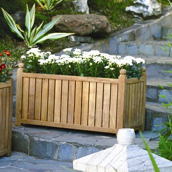 Wood Planter Box by Three Birds Casual