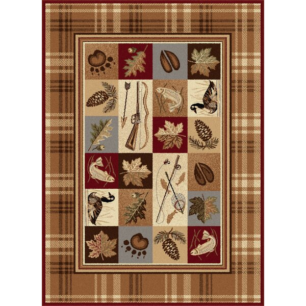 Clifford Brown Area Rug by Threadbind