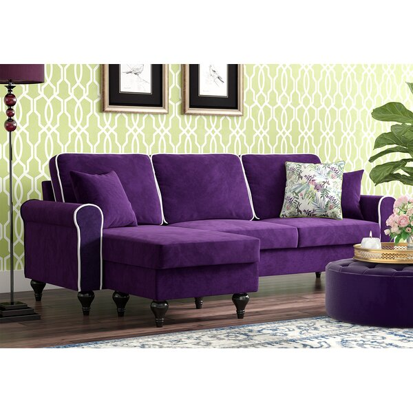Cheapest Ester Right Hand Facing Reversible Sectional by Willa Arlo Interiors by Willa Arlo Interiors