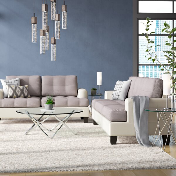 Wokingham 2 Piece Living Room Set by Ebern Designs