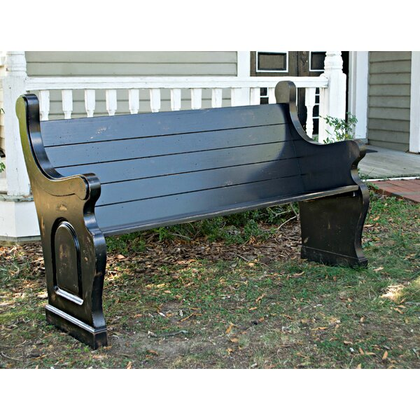 Wilmoth End Solid Wood Garden Bench by Bloomsbury Market