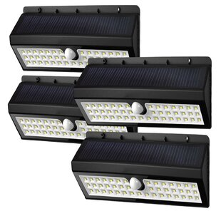 Solar Garden 44 Light LED Flood Light (Set of 4) By Deluxe Comfort Outdoor Lighting