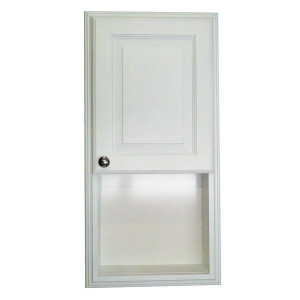 Baldwin 15.5 W x 31.5 H Recessed Cabinet by WG Wood Products