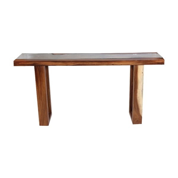 Macy Live Edge Console Table by Foundry Select