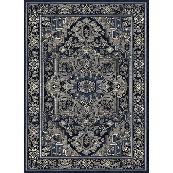 Fugate Blue Area Rug by Bloomsbury Market