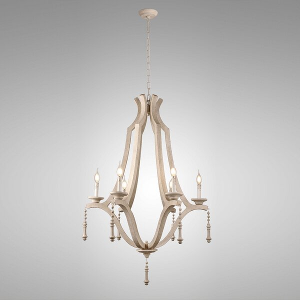 Phinney 6-Light Candle Style Empire Chandelier by One Allium Way One Allium Way