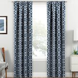 Geometric Wrought Studio Blackout Curtains You Ll Love In 2020 Wayfair