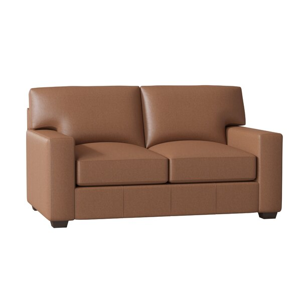 Pratt Leather Loveseat by Birch Lane™ Heritage