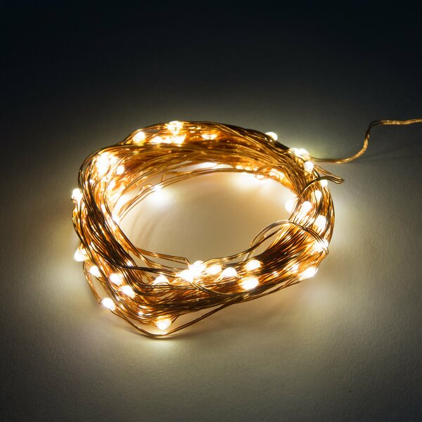 20-Light 6 ft. Fairy String Lights by Hometown Evolution, Inc.