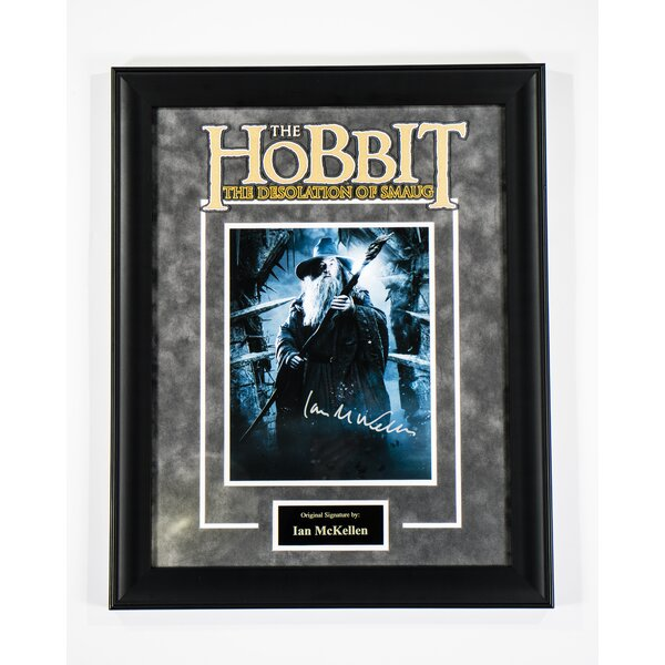 The Hobbit Framed Autographed  Photograph by LuxeWest