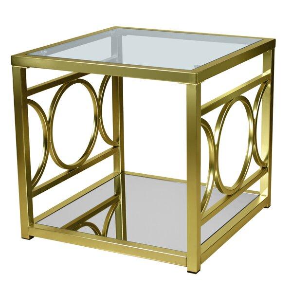 Simonne End Table by Everly Quinn