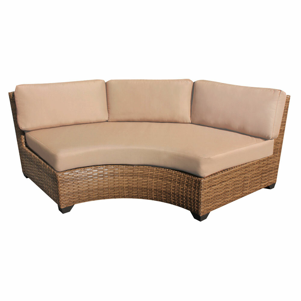 Waterbury Curved Sofa with Cushions