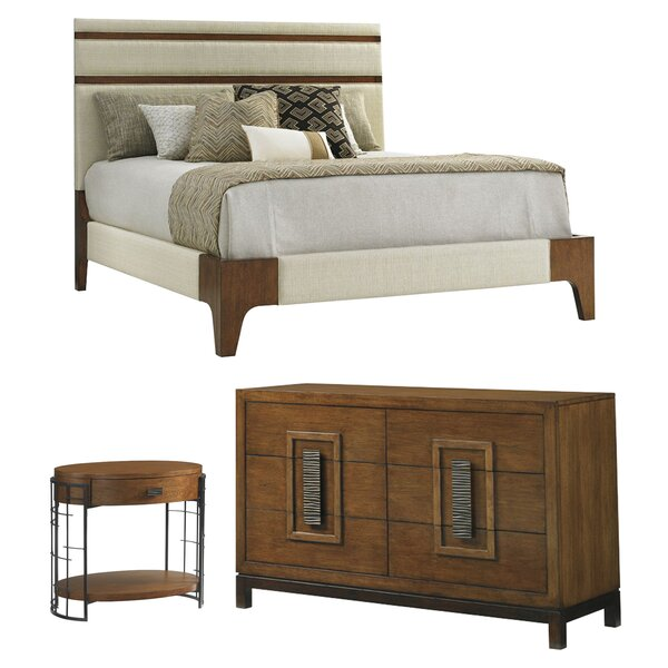 Island Fusion Panel Configurable Bedroom Set by To