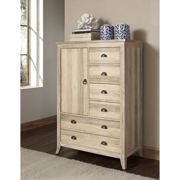Cimarron 6 Drawer Gentleman's Chest by Braxton Culler