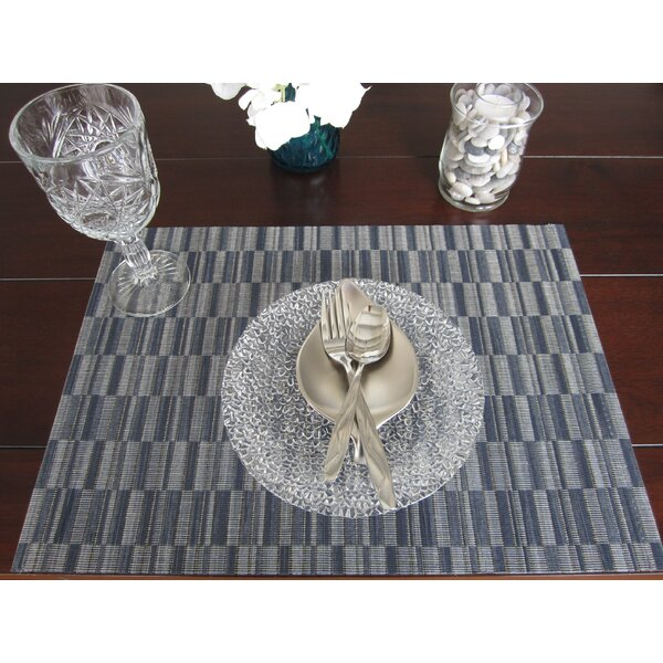 8 Piece Placemat Set by Linen Avenue