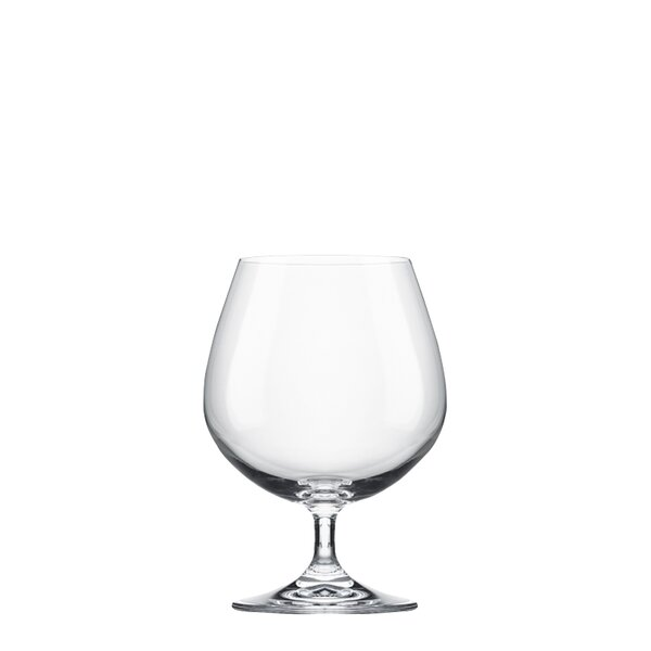 14 oz. Glass Brandy Glass (Set of 6) by RONA
