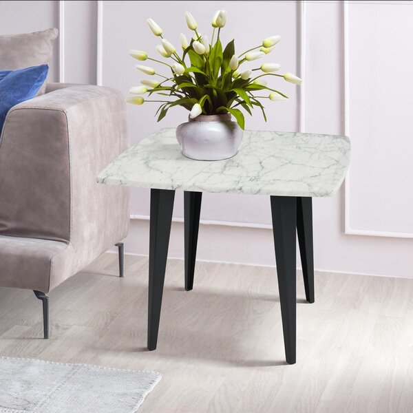 Brucedale Marble Top End Table By Brayden Studio