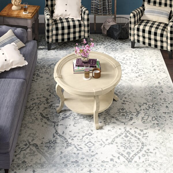 Youati Ivory/Gray Area Rug by Laurel Foundry Modern Farmhouse