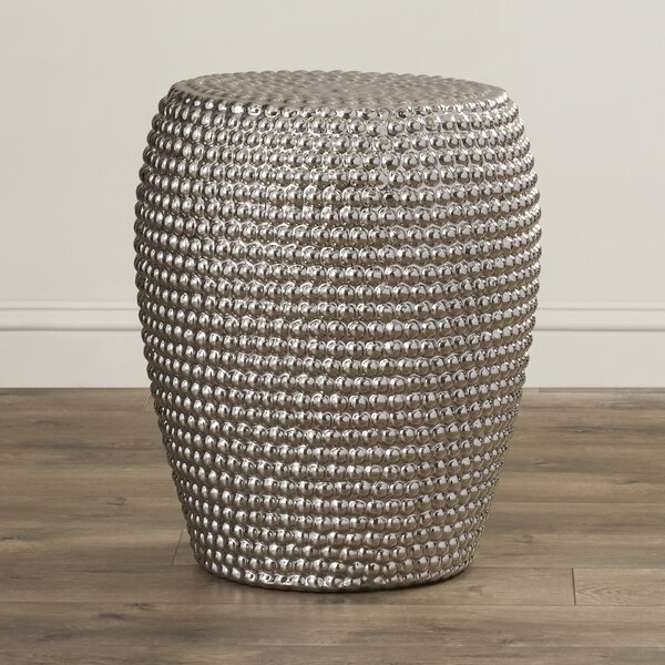 Saumya Garden Stool by World Menagerie