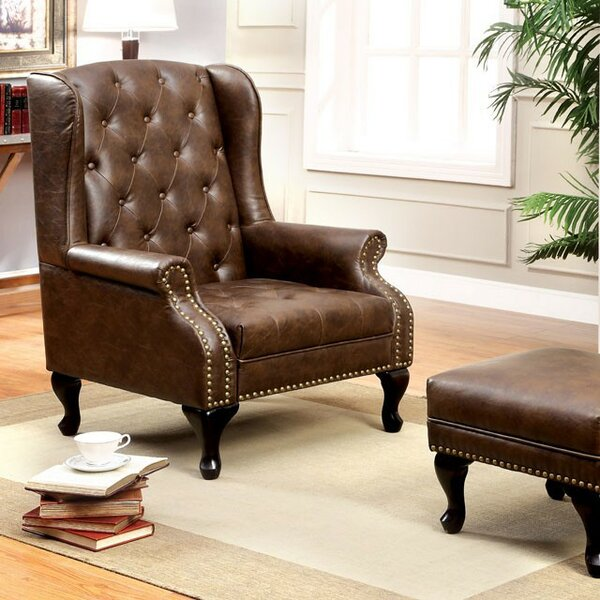 Antionette Wingback Chair by Darby Home Co