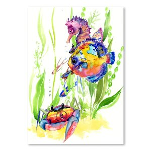 Seaworld2  Painting Print by East Urban Home