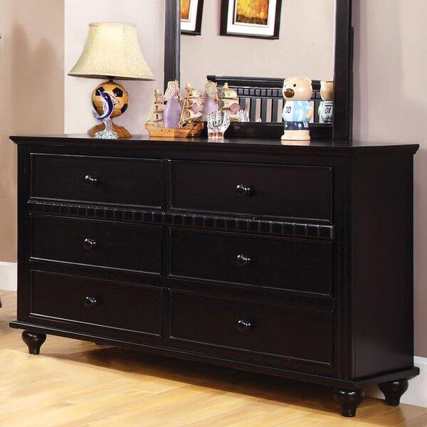 Kennedy 6 Drawer Double Dresser by Hokku Designs