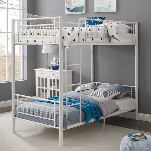 Jordin Metal Twin over Twin Bunk Bed by Isabelle & Max