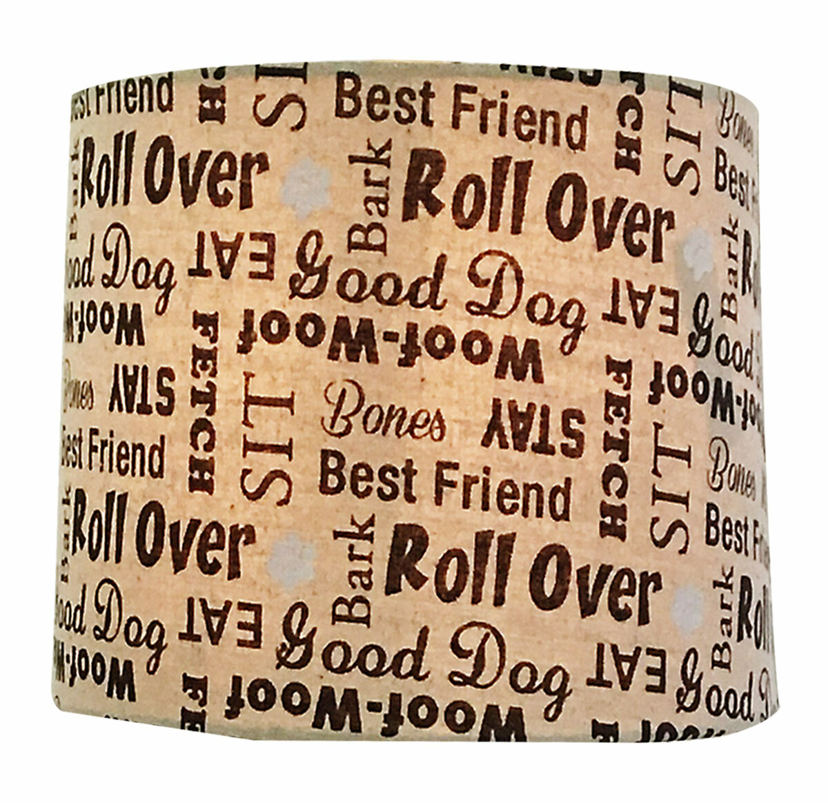 Winston porter dog lover print hardback paper drum lamp shade wayfair aloadofball Gallery