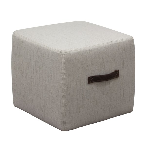 Ritz Cube Ottoman by Diamond Sofa