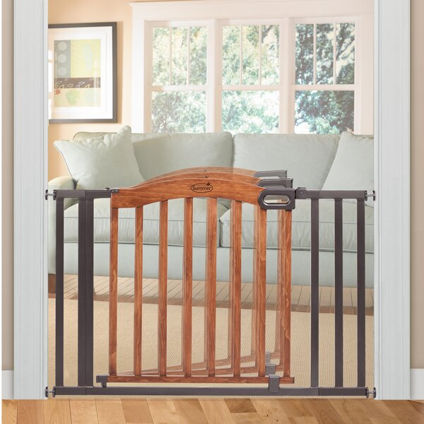 Decorative Wood and Metal 60 Expansion Gate by Summer Infant