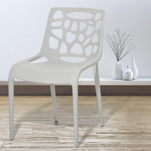 Cillian Garden Chair Set Of 4 Home Etc Colour Light Grey
