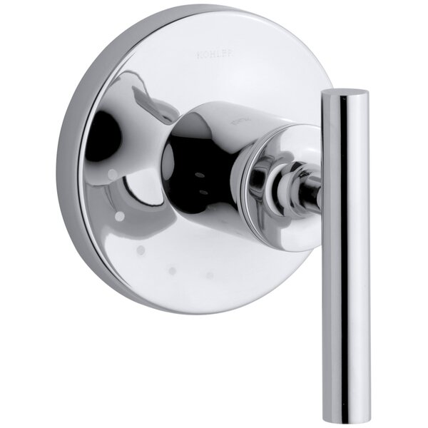 Purist Valve Trim with Lever Handle for Volume Control Valve by Kohler