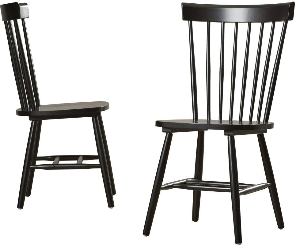 Royal palm beach solid wood dining chair reviews allmodern