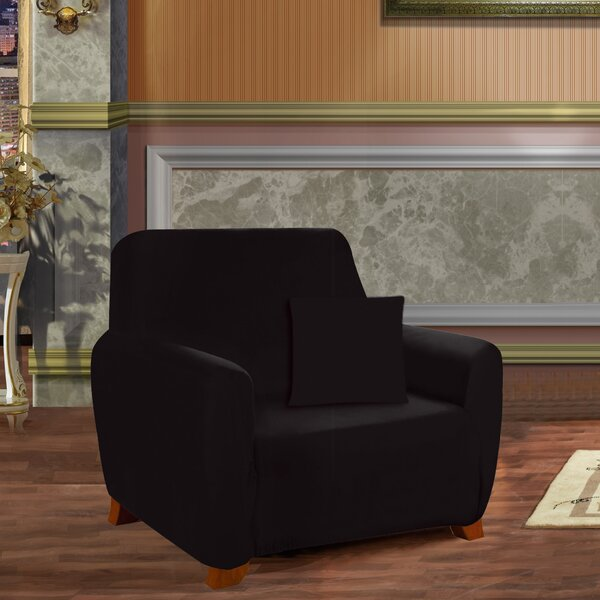 Box Cushion Armchair Slipcover by ELEGANT COMFORT