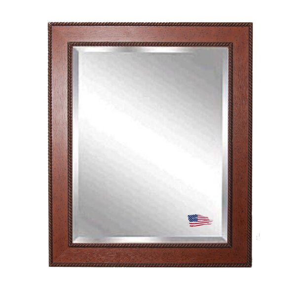 Rectangle Western Rope Wall Mirror by Darby Home Co