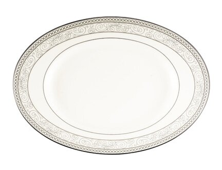 Cirque Oval Platter by Noritake