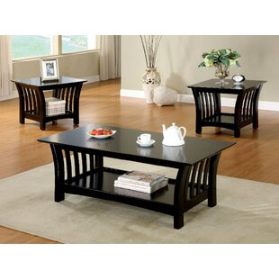 Comparison Heslin 3 Piece Coffee Table Set By Red Barrel Studio