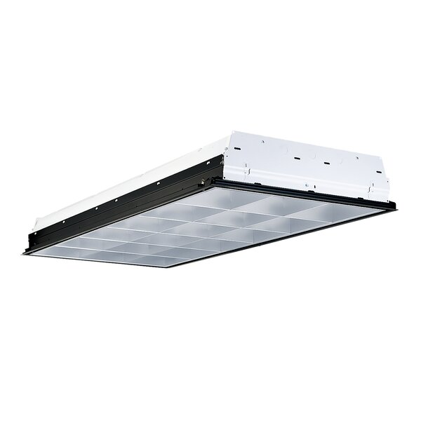 3-Light Fluorescent Parabolic High Bay by Cooper Lighting