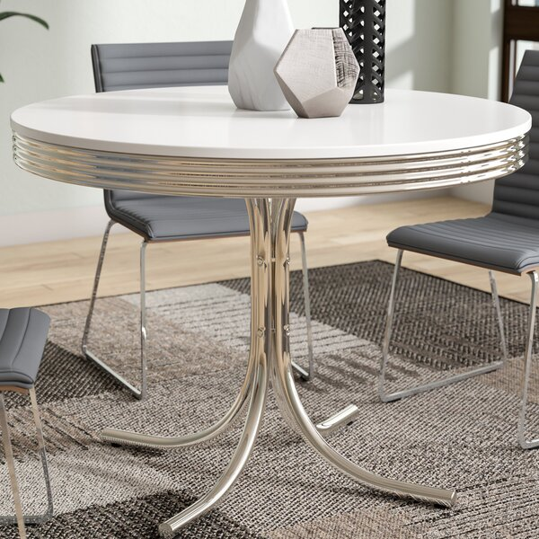 Kewei Retro Dining Table by Orren Ellis