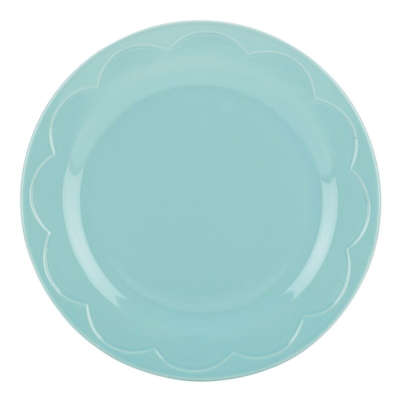 All in Good Taste Sculpted Scallop Accent Plate
