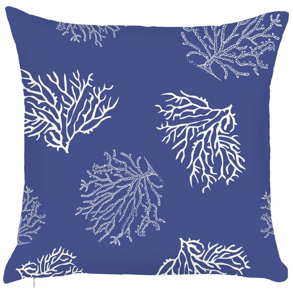 Costal Reefs Throw Pillow by Debage Inc.