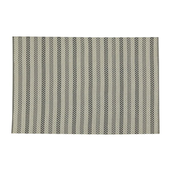 Hayes Hand-Woven Gray Indoor/Outdoor Area Rug by Birch Lane™ Heritage