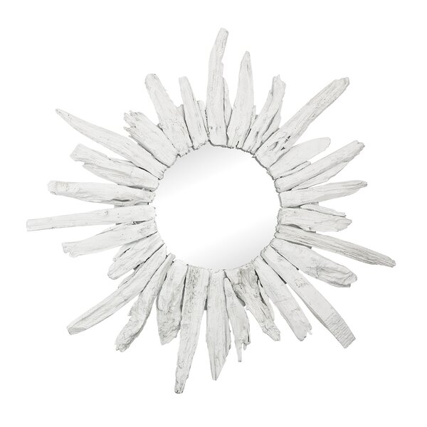 Yokota Sunburst Accent Mirror by Rosecliff Heights