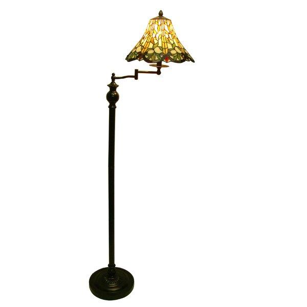 Randy 62 Swing Arm Floor Lamp by Astoria Grand